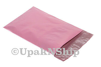 100 6x9 PALE PINK Poly Mailers Shipping Envelope Couture Boutique Shipping Bags