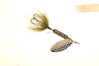 """Wordens Rooster Tail In-Line Spinner 2-1//4/"""" 1//8 Oz Treble Hook Red Ant 208-RANT"""