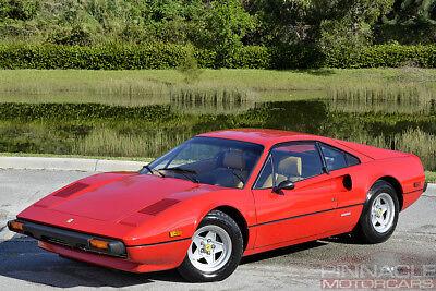 1977 Ferrari 308 GTB! Classiche Certified! Best Of The Best! 1977 Ferrari 308 GTB! Classiche Certified Red/Tan Low Miles! Investment Quality!