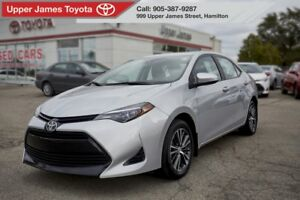 2017 Toyota Corolla LE Toyota Certified for your peace of mind!