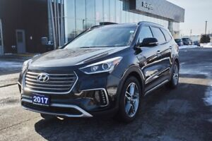 2017 Hyundai Santa Fe XL Leather, Nav, AWD, Low KMS