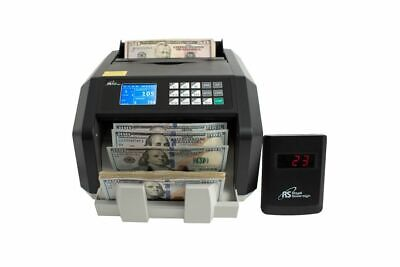 Royal Sovereign High Speed Money Value Counting Machine With Counterfeit Detect