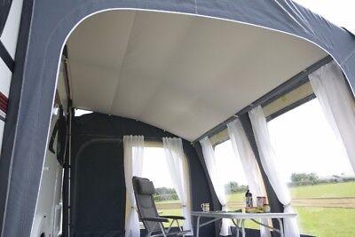 Kampa Innenzelt Rally Air Pro Plus 390 links Innenkabine Schlafkabine grau