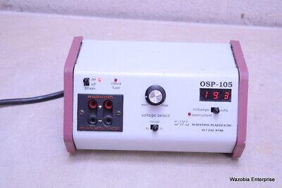 Owl Scientific Plastic Electrophoresis Power Supply Osp-105