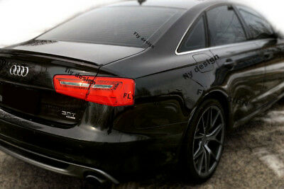 Audi A6 1.8 2.0 2.8 3.0 S6 RS6 Performance Stil Heckspoiler Hecklippe...