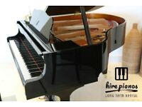 BRAND NEW - STEINHOVEN SG148 - HIGH GLOSS BLACK BABY GRAND PIANO!