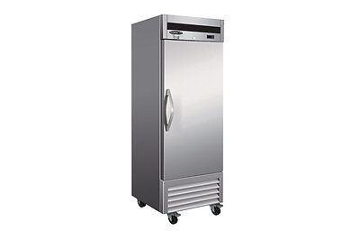Kool-it Ikon Kb27f 18cf 1-door Stainless Steel Commercial Reach-in Freezer New