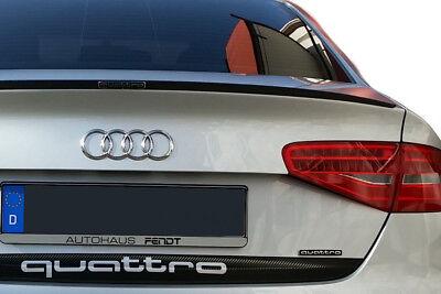 Audi A5 Coupé Tuning Nuevo Alerón Labio Posterior Carbono Look Slim Becqeut...