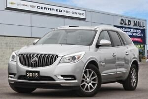 2015 Buick Enclave Leather  LOW KILOMETERS   SERVICED @ OLD MILL