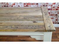 Extending Rustic Farmhouse Dining Table - Seating for up to 12 people