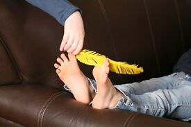 Looking for ticklish people, earn money from being tickled