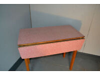 Vintage 1960s Formica table