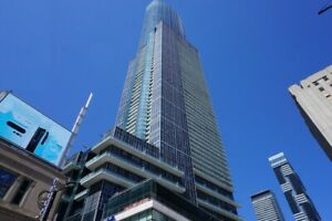 FURNISHED HUGE 1 BED CONDO FOR RENT @ TORONTO | DOWNTOWN YONGE