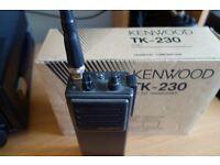 Kenwood TK-230 Ex Police VHF Radio on 2m