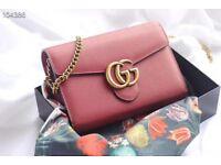 99%New Guci pink bag