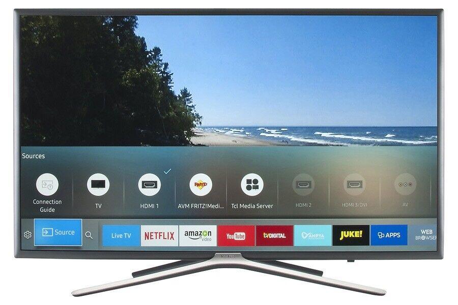 Samsung 40 Led Smart Tv Silver Frame S