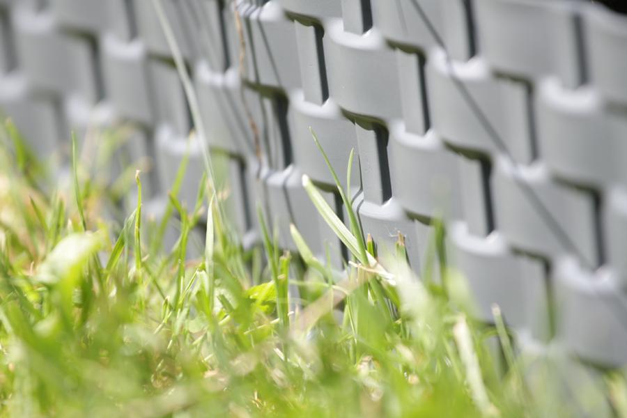 Rasenkante Gartenpalisade Rattan-Optik Beetumrandung Beeteinfassung Palisade