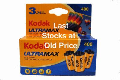 KODAK ULTRA 400 24exp 3 PACK
