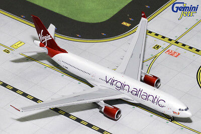 Gemini Jets 1 400 Scale Virgin Atlantic Airbus A330 200 G Vmik Gjvir1763
