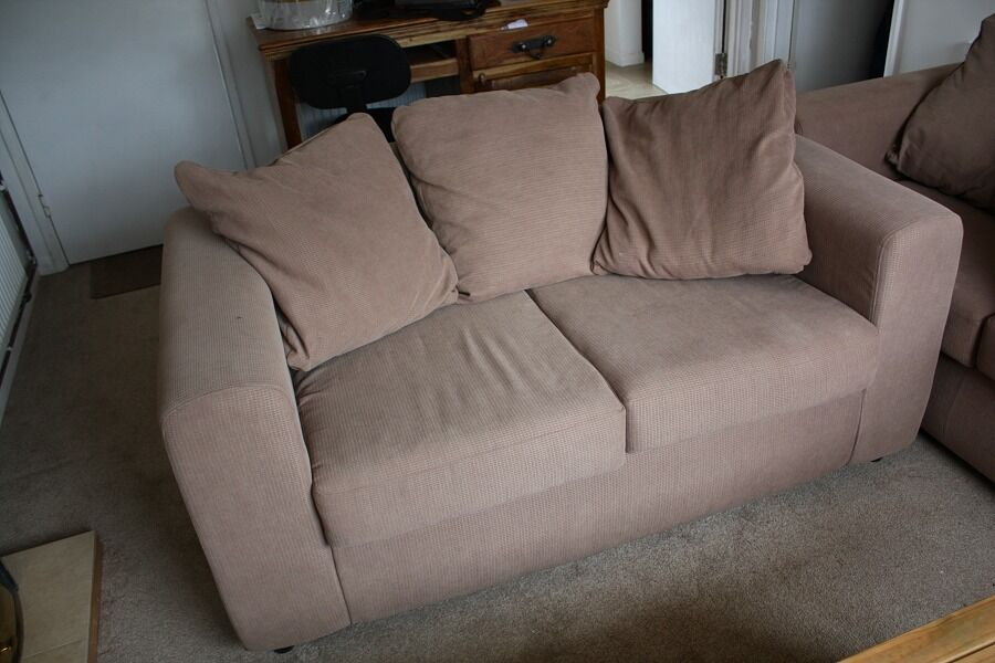 2 seater and 3 seater sofas £30 each or £50 the pair