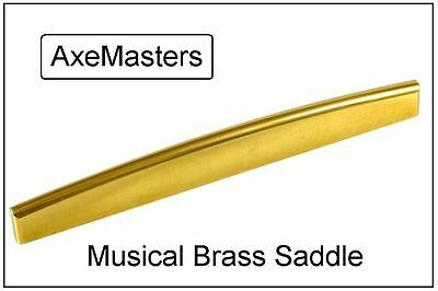 USA MADE AxeMasters BRASS SADDLE made for YAMAHA Acoustic Guitar for sale  Shipping to India