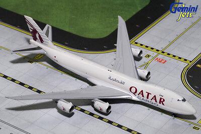 Gemini Jets 1 400 Scale Qatar Airways Cargo Boeing 747 8F A7 Bgb Gjqtr1720