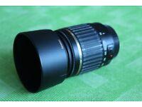 Tamron lens 55-200mm, A/F for canon eos camera