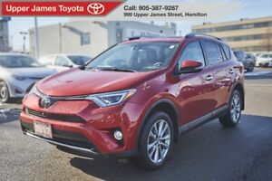 2017 Toyota RAV4 Limited LOADED WITH FEATURES!!