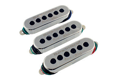 New Burns Brian May Tri Sonic Pickup Set 3 Pickups Guitar Chrome Isotropic Queen