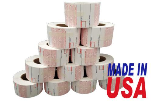 CAS 8040 Printing Scale Label, 58 x 60 mm, UPC12 Rolls Per Case