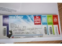 Silverstone British MotoGP Weekend ticket for area Woodcote A