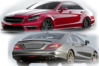 Mercedes Benz CLS C218 C 218 63 AMG Aerodynamik Styling AMGLook tailgate arrière