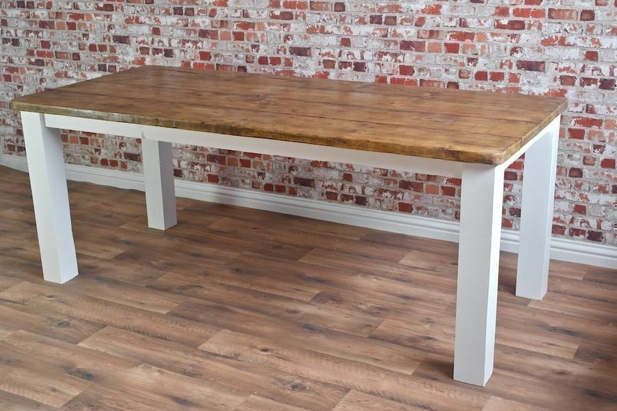 Rustic Farmhouse Square Leg Dining Table Reclaimed Wood  : 86 from www.gumtree.com size 900 x 600 jpeg 100kB