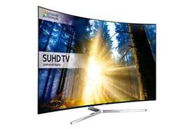 """Samsung Ue49ks9000 49""""Curve Smart Quantum dot display SUHD. Brand new boxed complete can deliver ."""