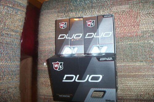 2 dozen BRAND NEW 2020 Wilson Staff Duo Soft + golf balls  white