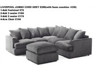 🎀🎀SAME DAY DELIVERY 🎀🎀Desmond Corner Suite or 3 and 2 Sofa Set- SAME/NEXT DAY DELIVERY
