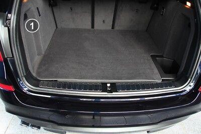 Gummierte Kofferraumwanne für BMW X3 M Sport F25 Facelift Steilheck Geländewagen