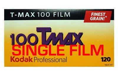 Kodak TMAX 100 Black and White 120 Film - Finest Grain Quality