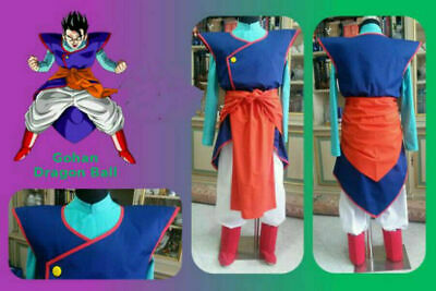 NEw! Dragon Ball Cosplay Gohan Costume Uniform Suit](Gohan Costumes)