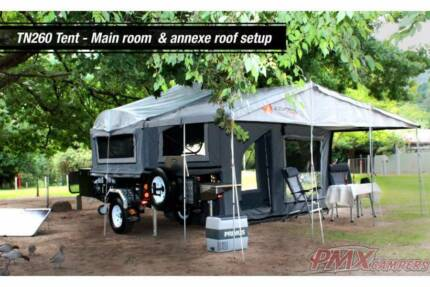 Off Road Soft Floor Camper Package. PMX Buckland LX MK2