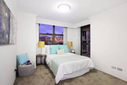 Double room in luxury building, Pyrmont