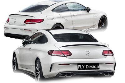 Mercedes C Klasse Coupe C205 AMG stil Heckspoiler Spoiler Lid Kofferraumklappe