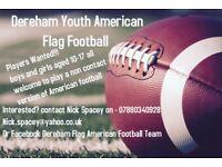 Dereham Youth Flag American Football