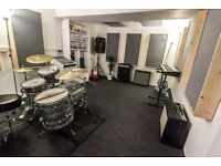 Brand new monthly hire rehearsal space open Hove Lagoon The Bridge for bands and producers