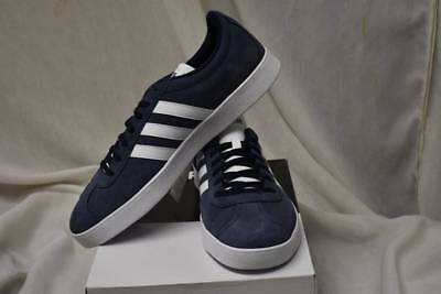 Adidas NEO VL Court 2.0 Mens Sizes 11.5 13 14 Medium Suede Sneakers Shoes New
