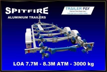 3,000kg ATM Aluminium Boat Trailer Brisbane South East Preview