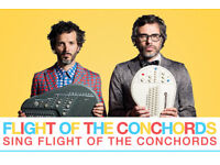 2 x tickets to see Flight of the Conchords at the o2 (Face Value, Lower Tier, Great view of stage)