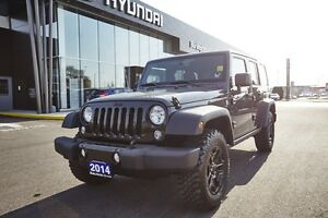 """2014 Jeep Wrangler """"WILLY'S EDITION"""" Unlimited Sahara  4WD"""