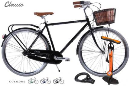 BIKE PICKUP | Vintage x Modern 3sp 'Classic' | Pump Lock & Basket Sydney City Inner Sydney Preview