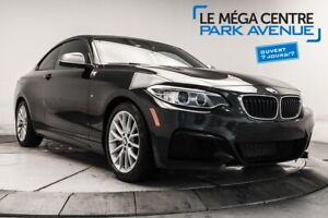 2015 BMW 2 Series M235I AWD CUIR, TOIT, MAGS